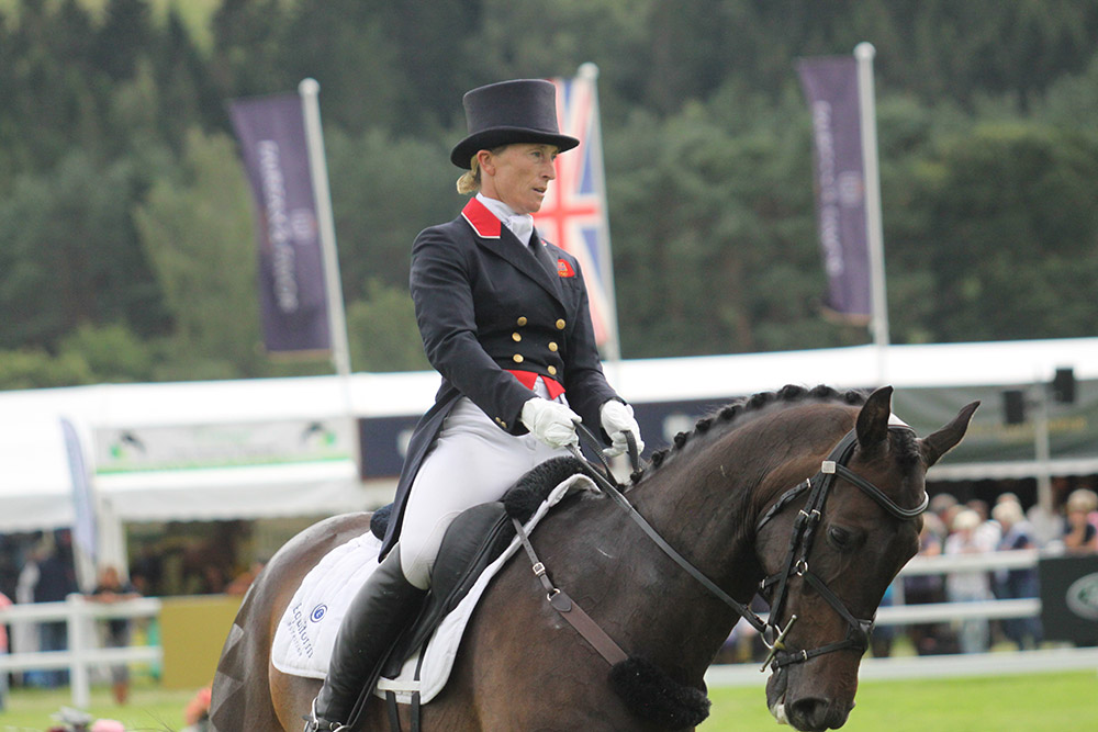 Daisy blooms at Blair: day two of dressage