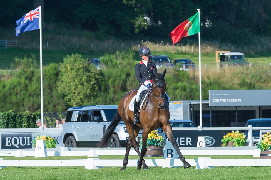 Thursday eventing roundup from Blair Castle